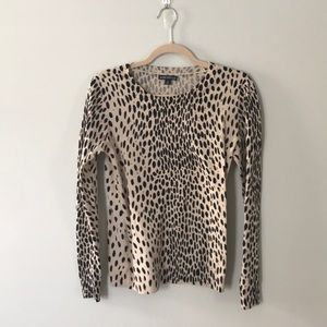 J.Crew Mercantile Cheetah Sweater Size Small